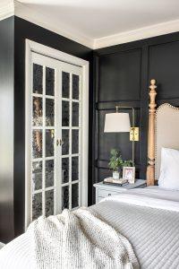 Master Bedroom Update - Mirrored French Closet Doors